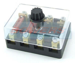 s l300 6v 12v 24v volt 4 way ceramic torpedo continental fuse box holder 6 volt fuse box motorcycles at bayanpartner.co