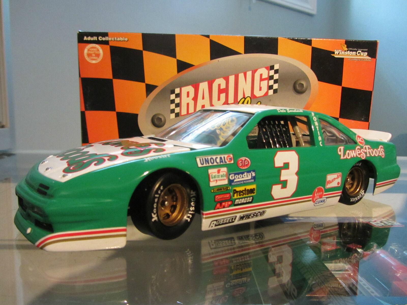 Dale Earnhardt Sr. Lowes 1989 Pontiac 1996 RCCA 1 24 NASCAR Diecast