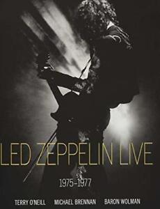 Led-Zeppelin-Live-1975-1977-by-Baron-Wolman-Michael-Brennan-Terry-O-039-Neill-NEW