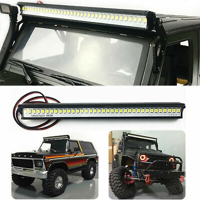 Super Bright 36 LED Light Bar Roof Lamp For Traxxas SCX10 Crawler RC TRX4 P4J5