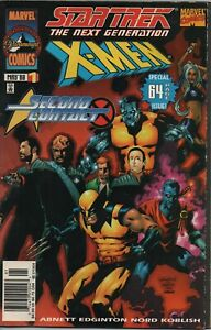 Star-Trek-The-Next-Generation-X-Men-2nd-Contact-Comic-Book-1-Marvel-1998