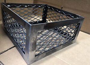 Bbq Smoker Wood Charcoal Basket Fire Box Oklahoma Joe Longhorn