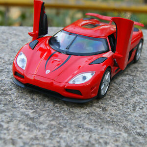 Image is loading Koenigsegg-Agera-R-Model-Cars-1-32-Alloy- & Koenigsegg Agera R Model Cars 1:32 Alloy Diecast 2 doors can bounce ...