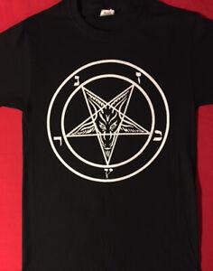 PENTAGRAM-T-Shirt-satanic-clothing-satanism-EVIL-HIPSTER-black-metal-satan-S-XL
