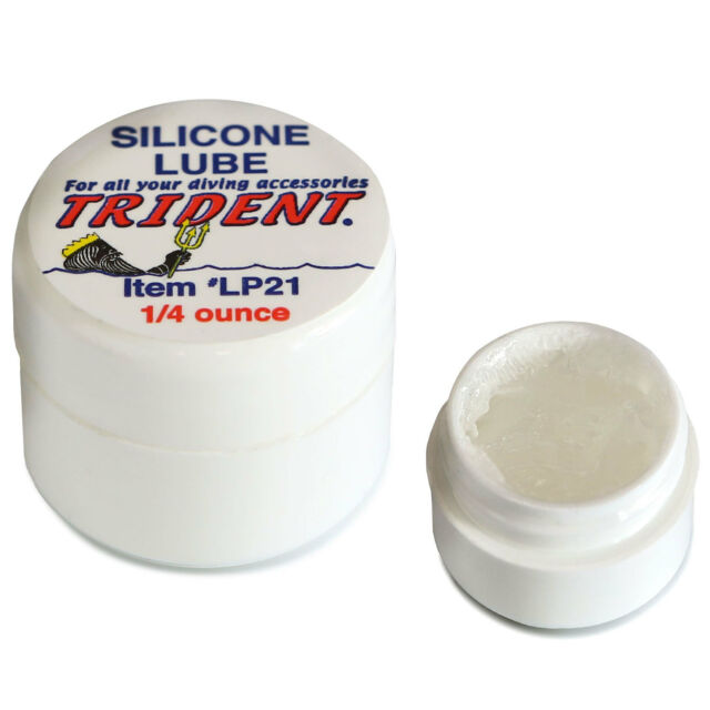 Trident Silicone Grease Jar