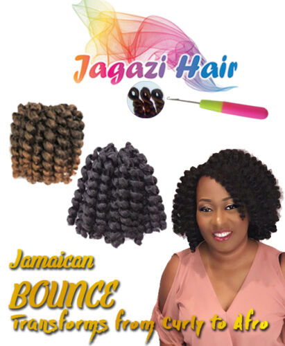 Uk: 20 Roots Jamaican Bounce Curl Wand, Jumpy Curly Crochet Hair by Ebay Seller