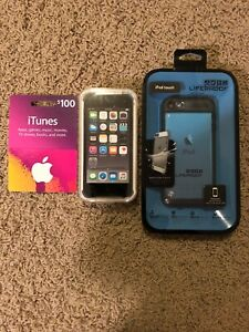 Apple-iPod-touch-6th-Generation-S-Gray-64GB-Lifeproof-Case-100-iTunes-BUNDLE