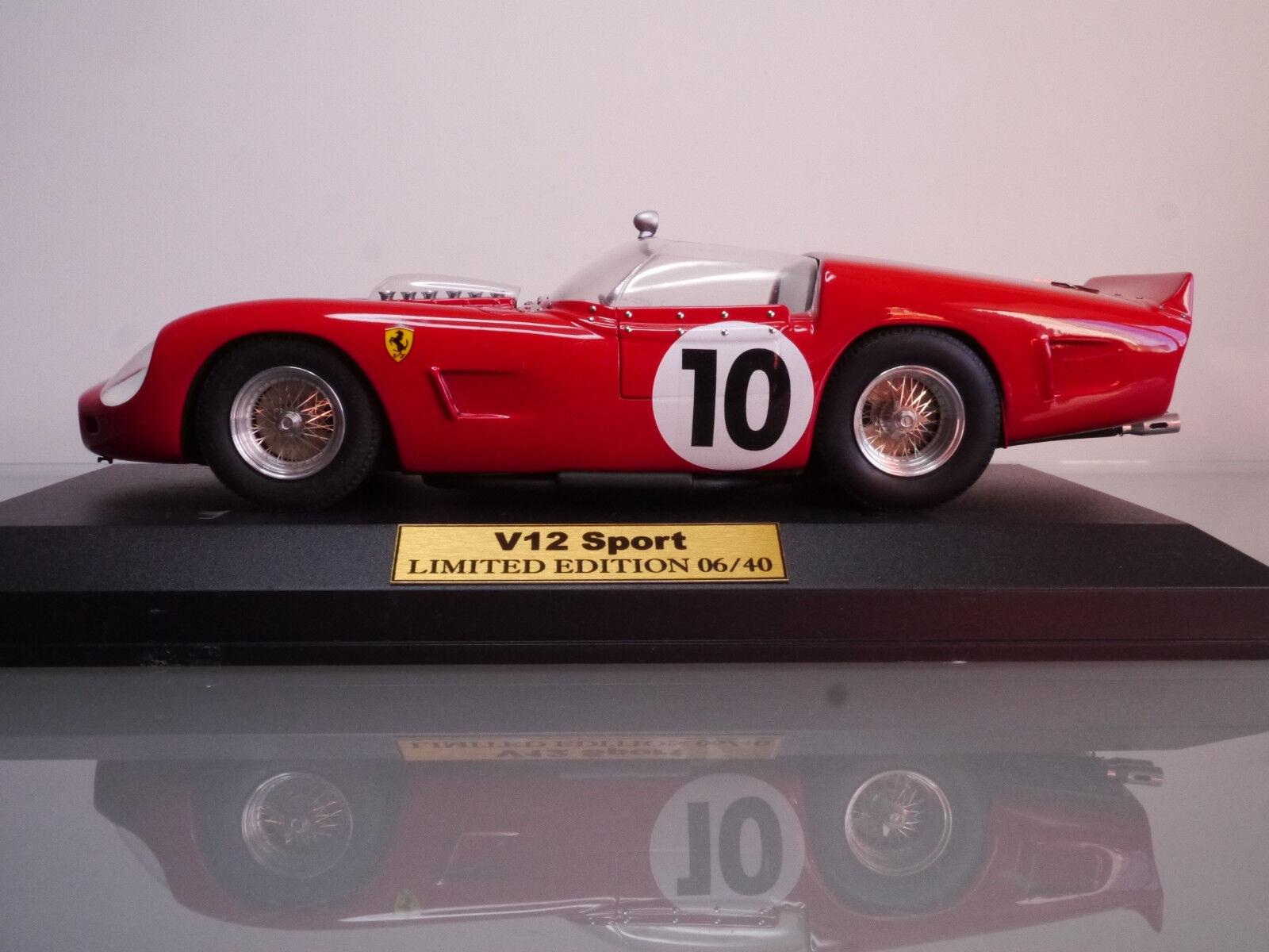 Ferrari  250 TRI61 V12 Sport Winner Le Mans 1961 no BBR