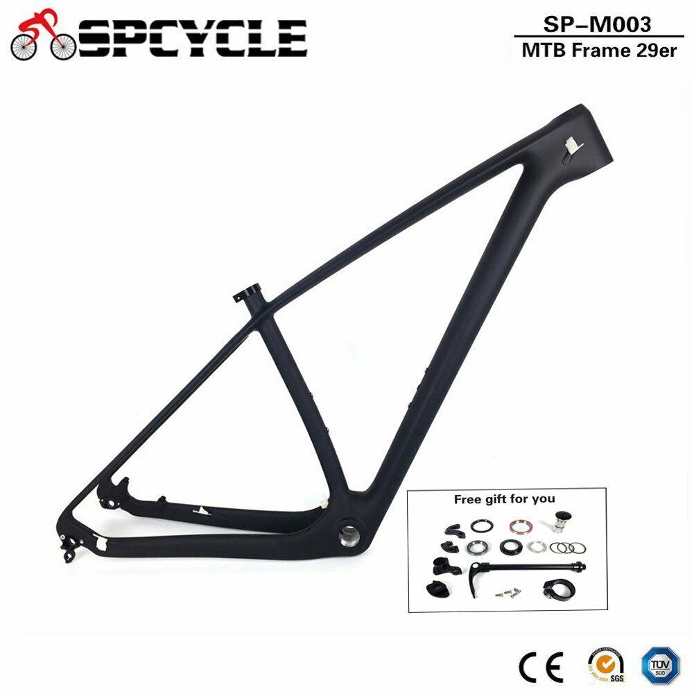 27.5er 29er completo de Carbono Bicicleta De Montaña Bicicleta de montaña Marcos BSA Negro Brillante Mate 15 17 19