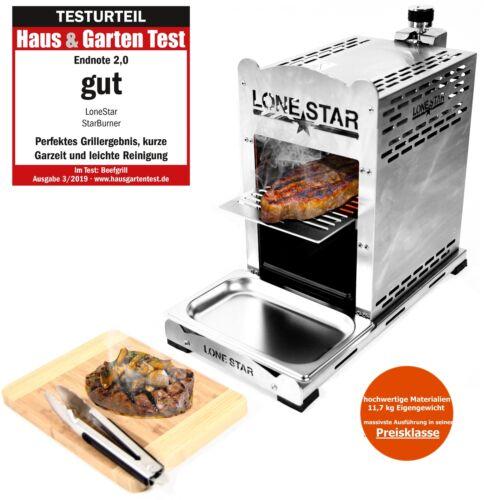 LoneStar StarBurne Oberhitzegrill 800° Steakgriller Gasgrill Beefmaker Oberhitze