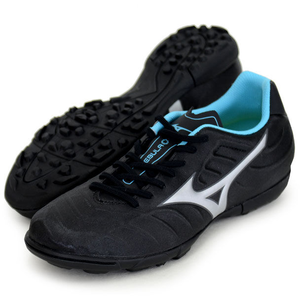 Mizuno JAPAN REBULA V3 AS Soccer Football zapatos Turf Wide P1GD1785 negro