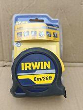 IRWIN IRW10507795 Professional Pocket Tape 8m//26ft Carded Width 25mm