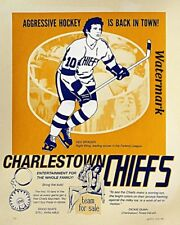 1977 Slap Shot Movie Poster Hanson Brothers Reprint 8 X 10 Photo Picture