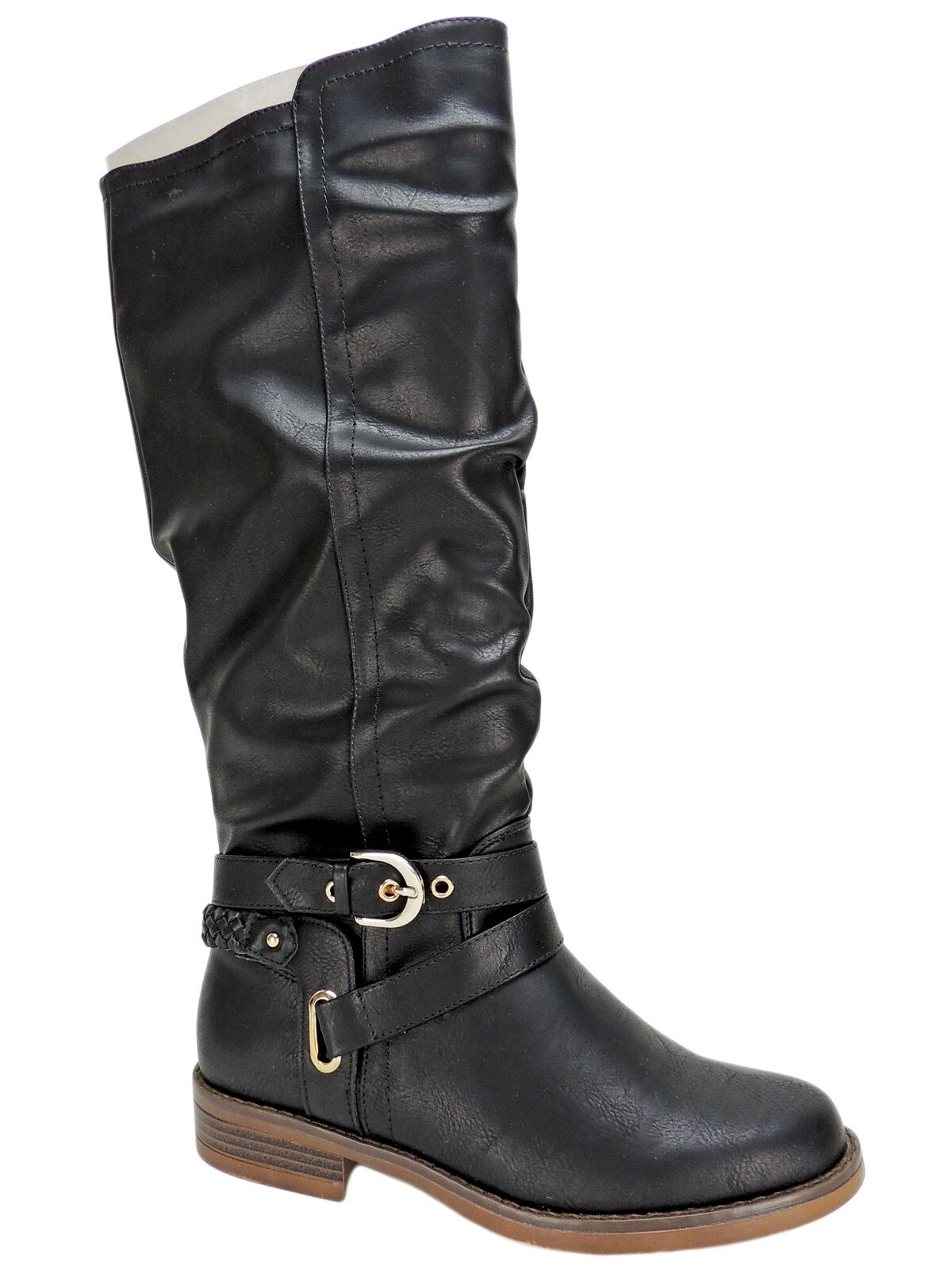 XOXO Women's Martin Riding Boots Black Size 7 M