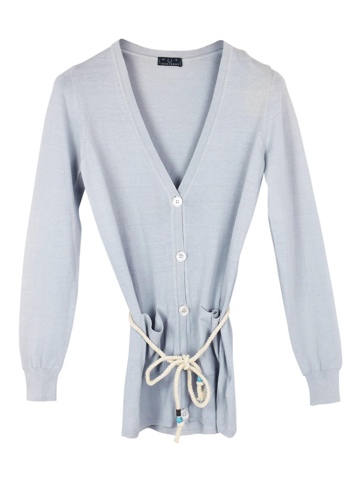 NEW Fred Perry tie string cardigan cardigan cardigan af455a