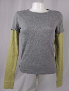 NEW Aeropostale Women/'s Prince /& Fox Yellow Button Down Shirt A1-30