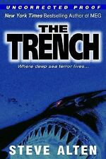 The Trench  by Steve Alten hardcover dj 1st/2nd