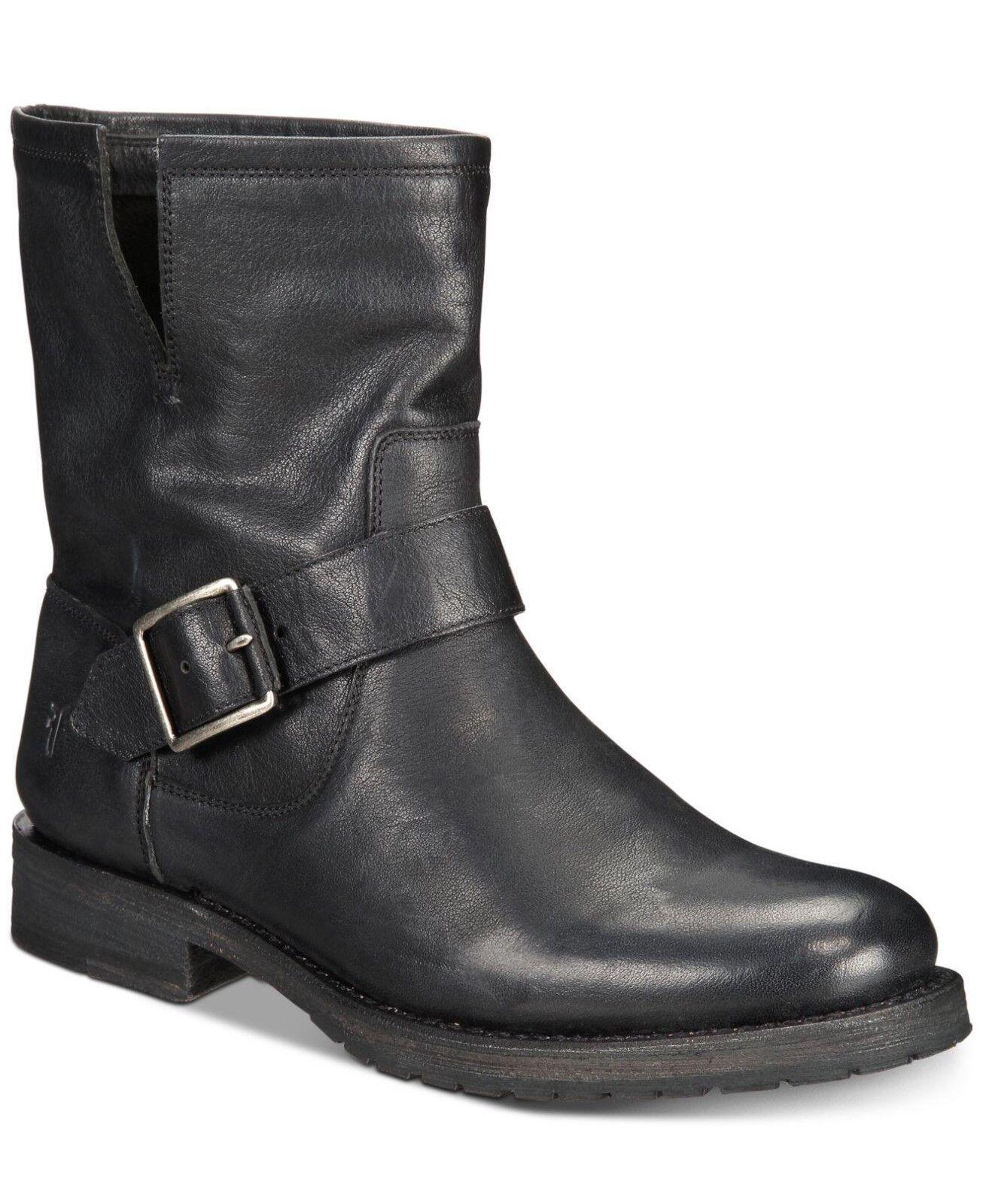 NEW w o Box Frye Natalie Leather Booties in Black Black Black - Size 9 001da8