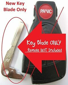 Uncut-Emergency-Key-Blade-Mercedes-Smartkey-Keyless-entry-fab-Remote-IYZ-3312