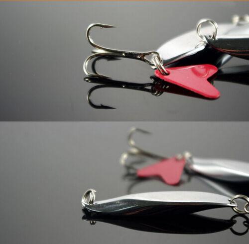 50//100 X Edelstahl Split Ring Blank Köder Angeln Connector Köder Ring ZP