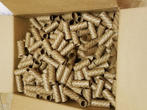 Pre-Crimped 1 End Shotgun Rolls $25 Dollars 100 Dollar Size Paper Coin Wrappers