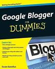Google Blogger For Dummies by Susan Gunelius (Paperback, 2009)