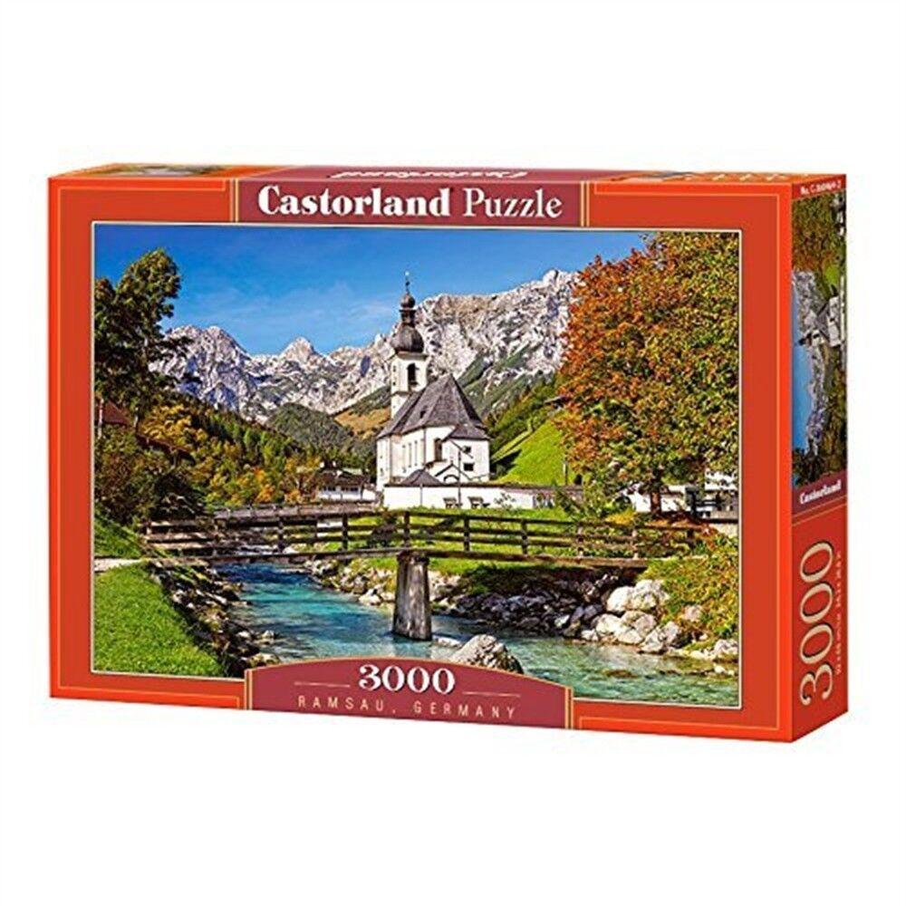 Castorland C-300464  ramsau, Allemagne  Puzzle - Ramsau Allemagne 3000 Pièces