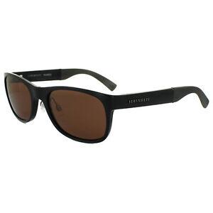 6167f48c7c8 Image is loading Serengeti-Sunglasses-Piero-7634-Shiny-Black-Brown-Drivers-
