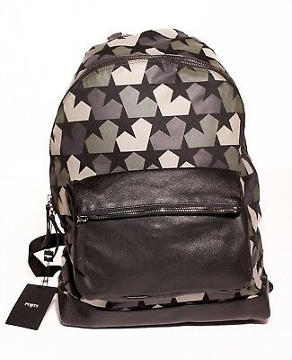 Ports 1961 Forest green calf leather Star Camouflage backpack Zaino Uomo | eBay