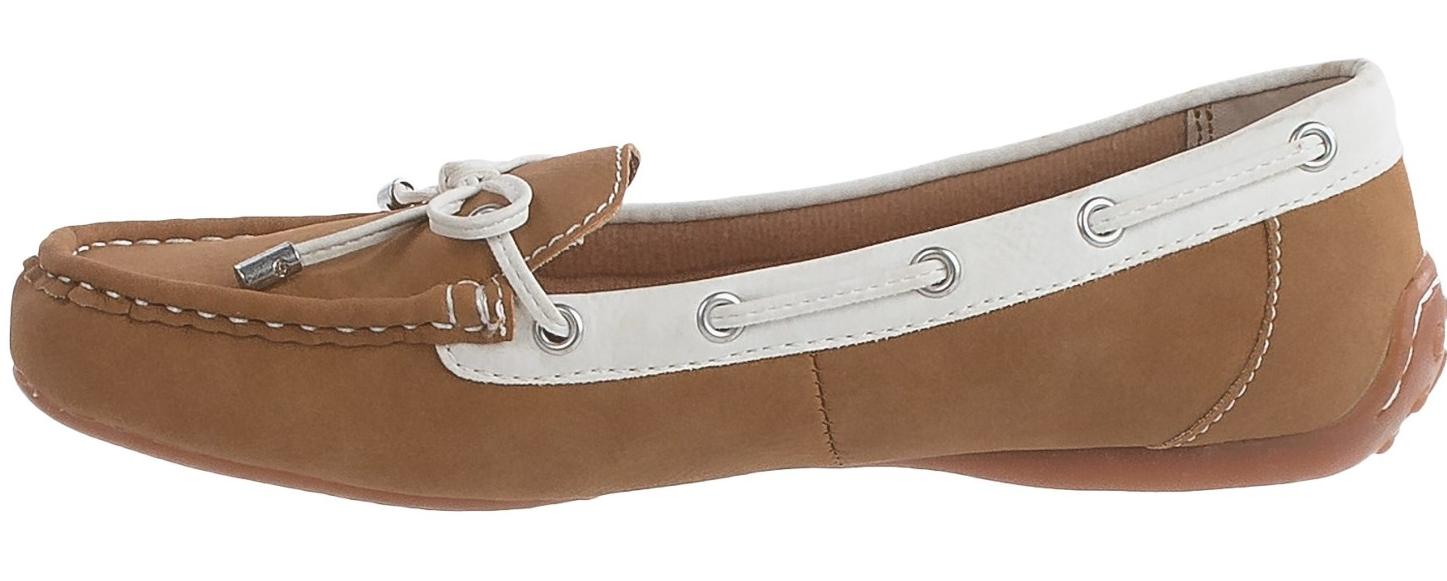 New Born B.O.C Rosta Moccasin Chaussures Femme 6 Slip On Mocassins naturel Free Ship