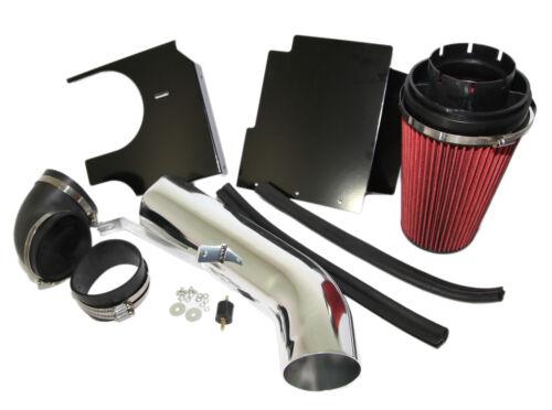 RED Cold Air Intake Kit+Heat Shield fit 99-06 GMC Sierra 1500 2500 1500HD 2500HD