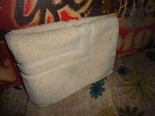 VINTAGE RALPH LAUREN CAMEO/NEUTRAL STEP-OUT BATH MAT TOWEL 25 X 34 COTTON U.S.A.