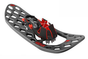 Yukon-Charlie-039-s-Carbon-Flex-Spin-Snowshoes-1-size-for-all-Black-amp-Red