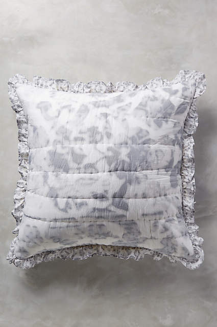 NEW ANTHROPOLOGIE  Latham Euro Shams  Set of 2 - Sold Out