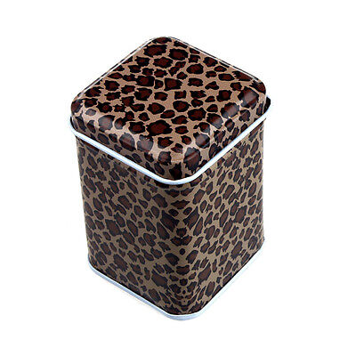 Metal Candy Trinket Tin Iron Tea Coin Square Storage Box Case ящик Для Хранения