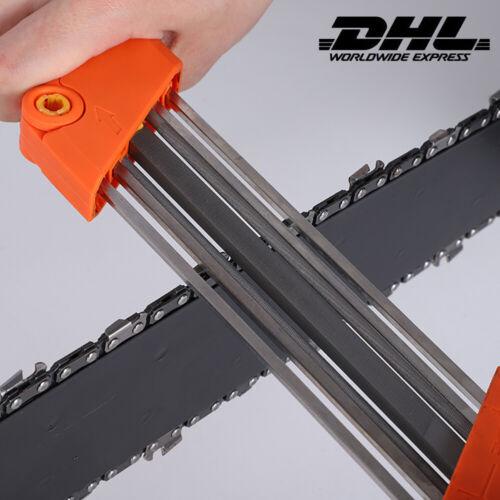 Kettenschärfgerät Kettenschärfer Kettensägen Schärfer Sägekettenschärfgerät DHL