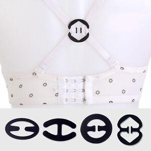 3PcsWomen-039-s-Non-slip-Bra-Strap-Clips-Buckles-Cleavage-Control-Accessories-Set