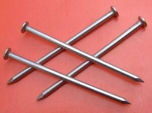 10 Acier Inox Pointes de Fil de Fer Ongles 3-8 X 100 mm Nirosta Inoxydable