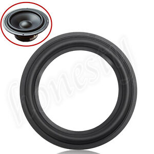 4-Size-Speaker-Edge-Surround-Decorative-Circle-Repair-Rubber-Bass-Woofer-Horn