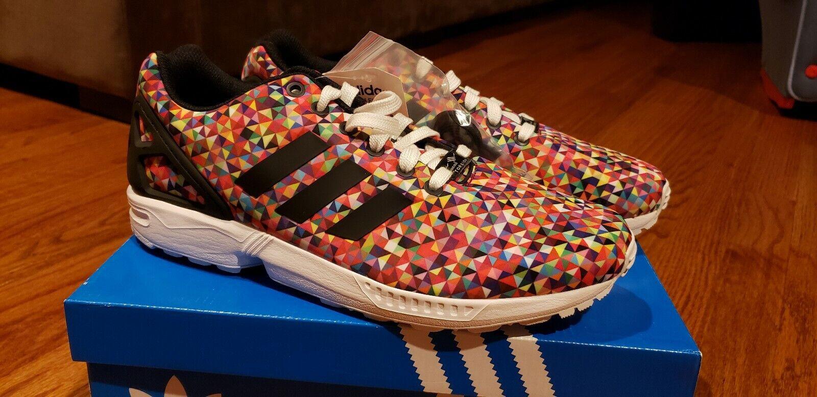 Adidas ZX Flux M19845 Multicolor Prism Size 9