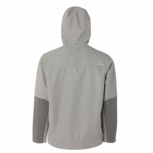 Grundens Bulkhead Tech Fleece Hoodie Jacket Metal Gray Anchor Black Many Sizes