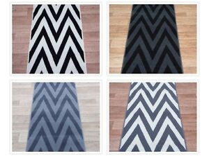 Hall Stairs Zigzag Carpet Runner Any Size X 60cm 4