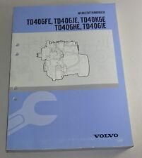 Werkstatthandbuch Volvo BM Motor TD40GFE etc. in Radlader / Bagger Stand 12/1997