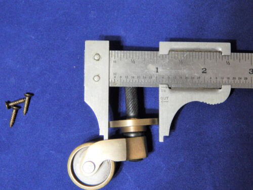 Brass Caster With Brass Fork Antique Finish