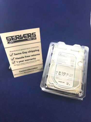 """1 of 1 - Seagate ST6000NM0034 enterprise 6TB 3.5"""" SAS 512E 7200 rpm 128 mb internal HDD"""