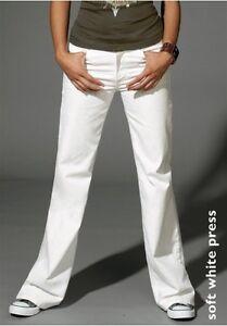 W27 474 W29 Flares Levis L34 Stretch White W30 Jeans W28 Levi`s New Ladies wq6EE