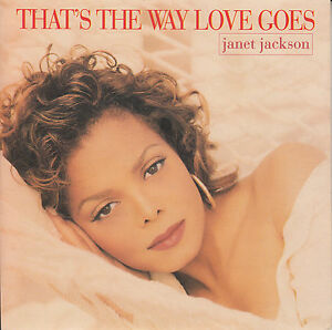 JANET-JACKSON-That-039-s-The-Way-Love-Goes-PICTURE-SLEEVE-7-034-45-rpm-vinyl-record