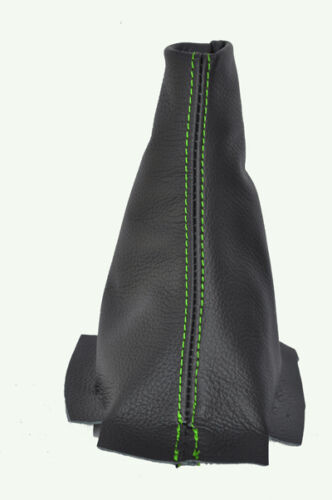 Green Stitch Fits Citroen C3 Picasso 2009-2011 Noir véritable qualité CUIR Gaitor