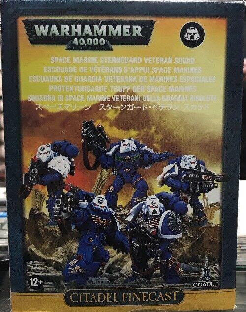 Sternguard Veteran Squad Finecast  Warhammer 40k GW Games Workshop Space Marines