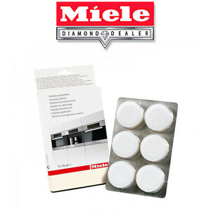 miele descaling tablets how to use